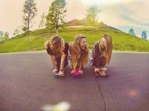 κορίτσια Στοκ Φωτογραφία