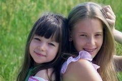 κορίτσια beauti Στοκ φωτογραφία με δικαίωμα ελεύθερης χρήσης
