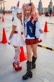 Κορίτσια Cosplay στο Τόκιο Στοκ Εικόνα