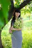 κορίτσι έγκυο στοκ εικόνες με δικαίωμα ελεύθερης χρήσης