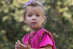 κορίτσι λίγο πορτρέτο Στοκ Εικόνα