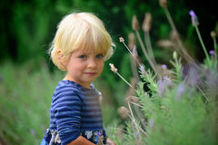 κορίτσι λίγο χαμόγελο Στοκ εικόνες με δικαίωμα ελεύθερης χρήσης