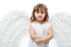 κορίτσι αγγέλου Στοκ Εικόνα