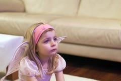 κορίτσι αγγέλου Στοκ φωτογραφία με δικαίωμα ελεύθερης χρήσης