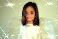 Κορίτσι αγγέλου Στοκ Φωτογραφίες