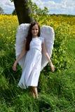 Κορίτσι αγγέλου Στοκ φωτογραφίες με δικαίωμα ελεύθερης χρήσης