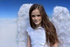 Κορίτσι αγγέλου Στοκ Φωτογραφία