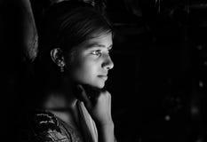 κορίτσι αγροτικό Στοκ Φωτογραφίες