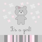 κορίτσι ανασκόπησης μωρών διανυσματική απεικόνιση