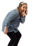 κορίτσι ανειλικρινές στοκ φωτογραφία με δικαίωμα ελεύθερης χρήσης