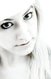 κορίτσι αντίθεσης υψηλό στοκ φωτογραφία