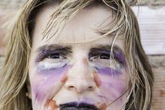 κορίτσι αποκριές Στοκ φωτογραφία με δικαίωμα ελεύθερης χρήσης