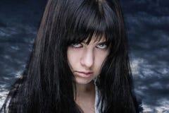 κορίτσι απόκοσμο στοκ φωτογραφία με δικαίωμα ελεύθερης χρήσης