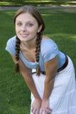 κορίτσι αρκετά Στοκ φωτογραφία με δικαίωμα ελεύθερης χρήσης