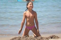 κορίτσι αρκετά Στοκ εικόνα με δικαίωμα ελεύθερης χρήσης