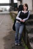 κορίτσι αστικό Στοκ Φωτογραφίες