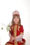 κορίτσι αυγών Πάσχας λίγα Στοκ φωτογραφίες με δικαίωμα ελεύθερης χρήσης