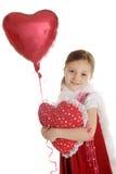 Κορίτσι βαλεντίνων Στοκ φωτογραφίες με δικαίωμα ελεύθερης χρήσης