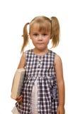 κορίτσι βιβλίων Στοκ Εικόνα