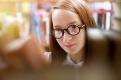 κορίτσι βιβλίων Στοκ Εικόνες