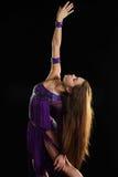 Κορίτσι-βλέμμα χορού Στοκ Φωτογραφίες