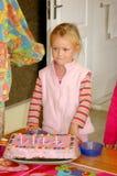 κορίτσι γενεθλίων στοκ εικόνα