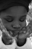 κορίτσι γκρινιάρικο Στοκ Φωτογραφία