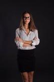 Κορίτσι γραμματέων Στοκ εικόνα με δικαίωμα ελεύθερης χρήσης