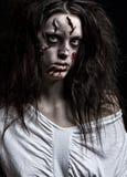 κορίτσι δαιμόνων Στοκ φωτογραφία με δικαίωμα ελεύθερης χρήσης