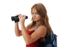 κορίτσι διοπτρών στοκ φωτογραφία με δικαίωμα ελεύθερης χρήσης