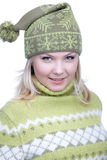 κορίτσι ενδυμάτων θερμό Στοκ φωτογραφίες με δικαίωμα ελεύθερης χρήσης