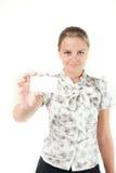 κορίτσι επαγγελματικών &ka Στοκ φωτογραφίες με δικαίωμα ελεύθερης χρήσης