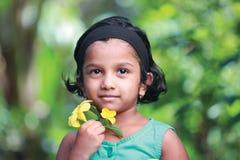 κορίτσι ευτυχές λίγα Στοκ φωτογραφία με δικαίωμα ελεύθερης χρήσης