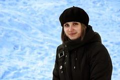 κορίτσι ευτυχές υπαίθρια Στοκ Εικόνα