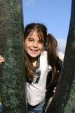 κορίτσι ευτυχές Στοκ εικόνες με δικαίωμα ελεύθερης χρήσης