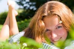 κορίτσι ευτυχές Στοκ Φωτογραφία