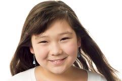 κορίτσι ευτυχές Στοκ Φωτογραφίες