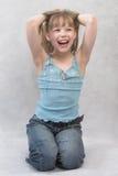 κορίτσι ευχάριστα Στοκ εικόνες με δικαίωμα ελεύθερης χρήσης