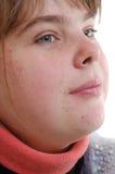 κορίτσι εφηβικό Στοκ εικόνες με δικαίωμα ελεύθερης χρήσης