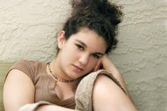 κορίτσι εφηβικό Στοκ Εικόνα