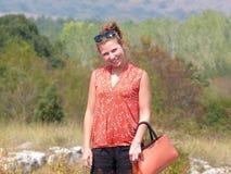 κορίτσι εύθυμο Στοκ εικόνα με δικαίωμα ελεύθερης χρήσης