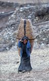 κορίτσι Θιβετιανός Στοκ φωτογραφία με δικαίωμα ελεύθερης χρήσης