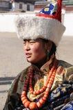κορίτσι Θιβετιανός στοκ φωτογραφίες με δικαίωμα ελεύθερης χρήσης