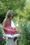 κορίτσι θρησκευτικό Στοκ φωτογραφία με δικαίωμα ελεύθερης χρήσης