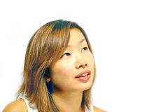 κορίτσι ιαπωνικά Στοκ φωτογραφία με δικαίωμα ελεύθερης χρήσης