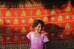 κορίτσι Ινδία αγροτική Στοκ εικόνες με δικαίωμα ελεύθερης χρήσης