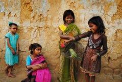 κορίτσι Ινδία παιδιών Στοκ Φωτογραφία