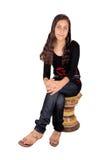 κορίτσι Ινδός στοκ εικόνες με δικαίωμα ελεύθερης χρήσης