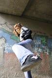 κορίτσι ισχυρό στοκ εικόνα με δικαίωμα ελεύθερης χρήσης