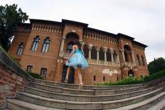 κορίτσι κάστρων στοκ φωτογραφίες με δικαίωμα ελεύθερης χρήσης